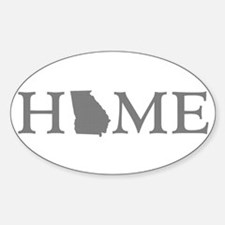 Georgia Home Sticker (Oval)