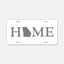 Georgia Home Aluminum License Plate