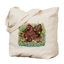 Chicken Family Tote Bag