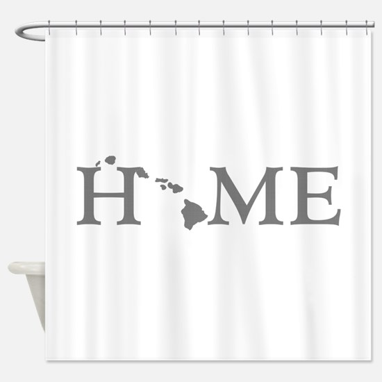 Hawaii Home Shower Curtain