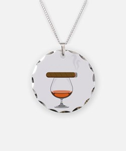 Brandy Cognac Cigar Necklace