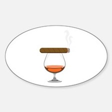 Brandy Cognac Cigar Decal