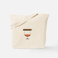 Brandy Cognac Cigar Tote Bag