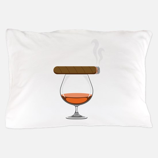 Brandy Cognac Cigar Pillow Case