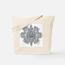 Aztec Sun Tattoo Tote Bag