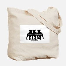 The Pit Stops Here Tote Bag