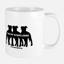 The Pit Stops Here Mugs