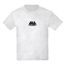 The Pit Stops Here Kids T-Shirt