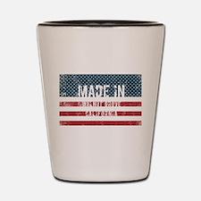 Made in Walnut Grove, California Shot Glass