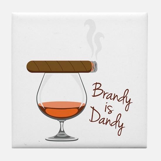 Brandy is Dandy Tile Coaster