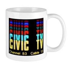 Videodrome Civic Tv Mugs