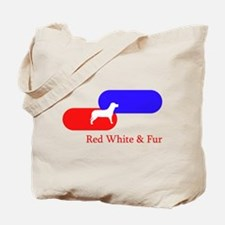 Patriotic / political Dog Tote Bag