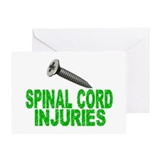Screw Spinal Cord Injuries 1 Greeting Card