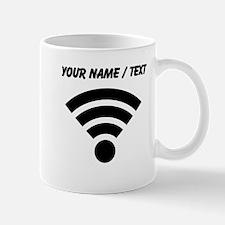 Custom WiFi Symbol Mugs