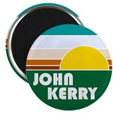 John Kerry Retro Sunrise Magnet