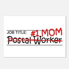 Job Postal Worker Postcards (Package of 8)