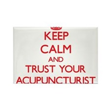 Keep Calm and trust your Acupuncturist Magnets
