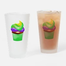 Colorful Cupcake Drinking Glass