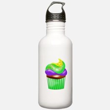 Colorful Cupcake Water Bottle