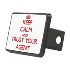 Keep Calm and trust your Agent Hitch Cover