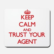 Keep Calm and trust your Agent Mousepad
