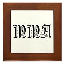 MMA Framed Tile