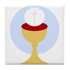 Christian Communion Tile Coaster