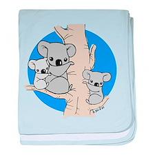 Koala Bears baby blanket