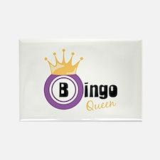 Bingo Queen Magnets