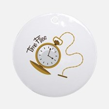 Time Flies Ornament (Round)