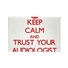 Keep Calm and trust your Audiologist Magnets
