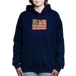 Flower Power US Banner Hooded Sweatshirt
