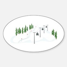 Ski Lift Decal