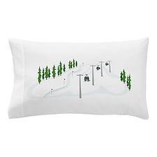 Ski Lift Pillow Case