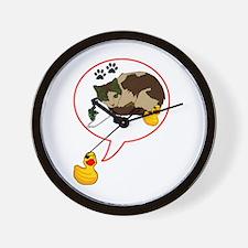 Duckie Says Wall Clock