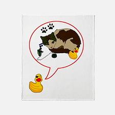 Duckie Says Throw Blanket