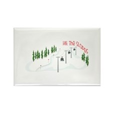 Hit The Slopes Magnets