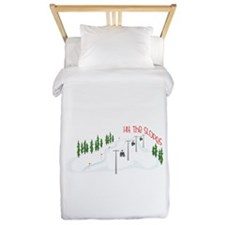 Hit The Slopes Twin Duvet