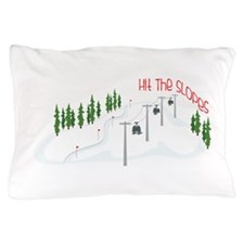 Hit The Slopes Pillow Case