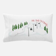 Hit The Slopes Pillow Case