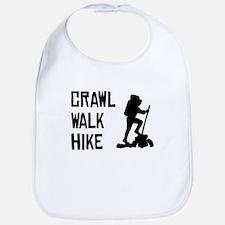 Crawl Walk Hike Bib