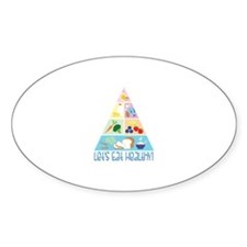 Lets Eat Healthy Decal
