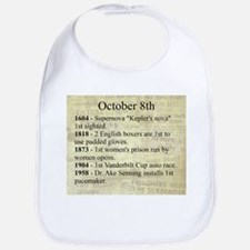 October 8th Bib