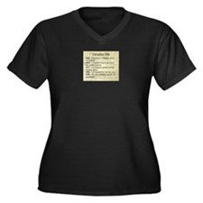 October 8th Plus Size T-Shirt