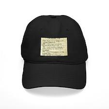 October 7th Baseball Hat