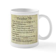 October 7th Mugs