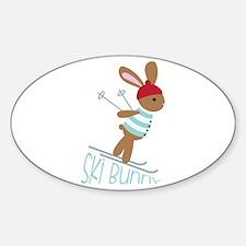 Ski Bunny Decal