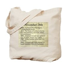 November 28th Tote Bag