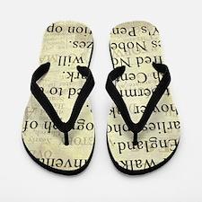 November 27th Flip Flops