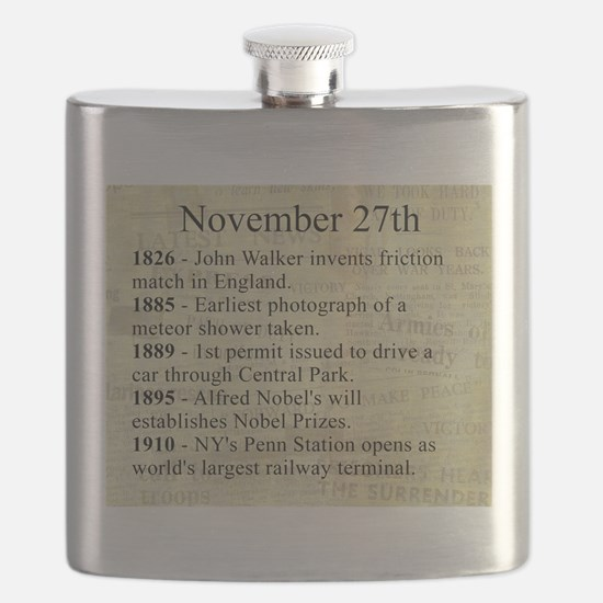November 27th Flask